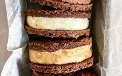 Chewy Vegan Chocolate Cookies